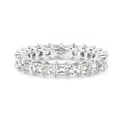 3.00 Carat My Girl Diamond Eternity Ring In Platinum, , large image number null