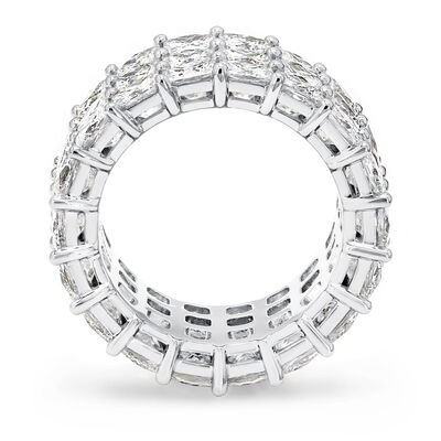 16.00 Carat My Girl Triple Row Diamond Eternity Ring in Platinum, , large image number null
