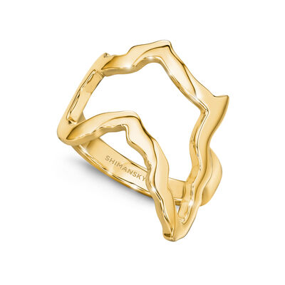My Africa Classic Ring in 18K Yellow Gold, , large image number null