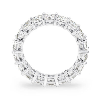 5.00 Carat My Girl Diamond Eternity Ring In Platinum, , large image number null