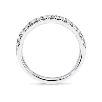 0.50 Carat Diamond Anniversary Ring in 18K White Gold, , large image number null