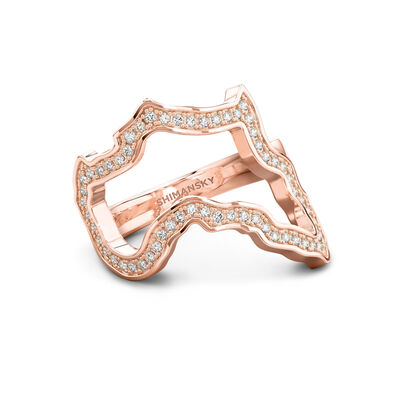 My Africa Classic Diamond Ring in 18K Rose Gold, , large image number null
