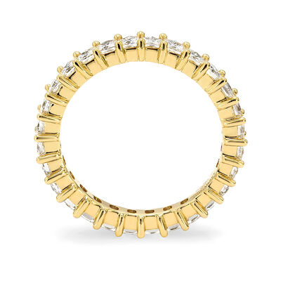 2.00 Carat My Girl Diamond Eternity Ring In 18K Yellow Gold, , large image number null