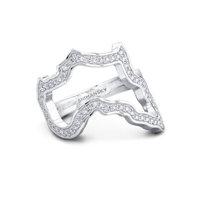 My Africa Classic Diamond Ring in 18K White Gold, , large image number null