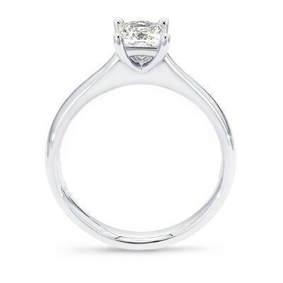 My Girl Solitaire Diamond Engagement Ring in Platinum, , large image number null