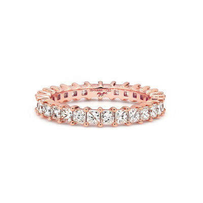 2.00 Carat My Girl Diamond Eternity Ring In 18K Rose Gold, , large image number null