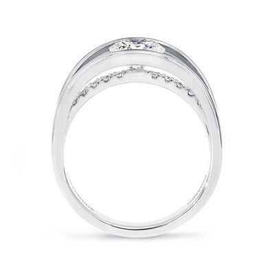 Shimansky Exclusive Evolym Ring in Platinum, , large image number null