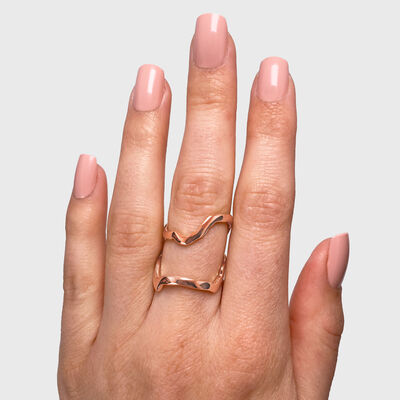 My Africa Wrap Ring in 18K Rose Gold, , large image number null