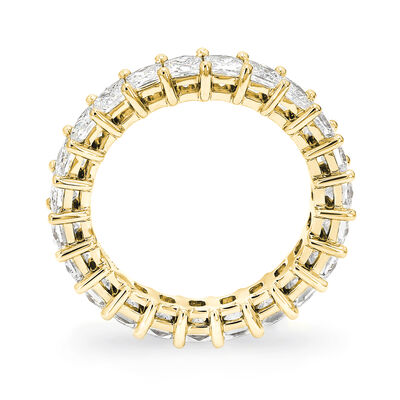 3.00 Carat My Girl Diamond Eternity Ring In 18K Yellow Gold, , large image number null