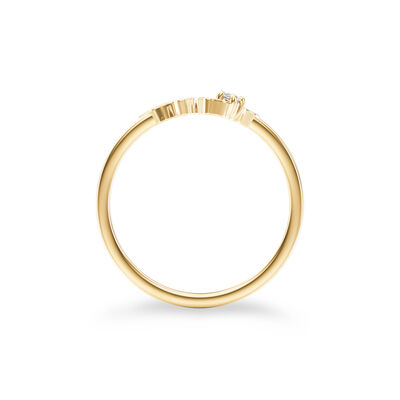 My Africa Small Diamond Ring in 14K Yellow Gold, , large image number null