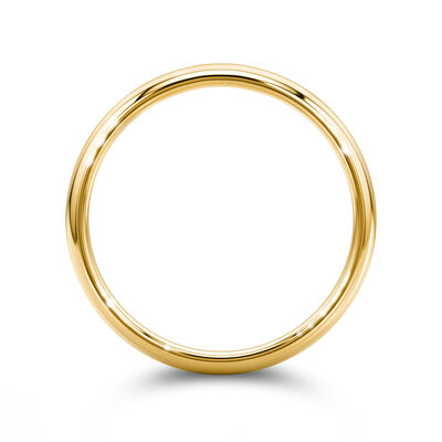 18K Yellow Gold Gent's wedding Band, , large image number null