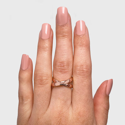 Infinity Ring in 18K Rose Gold, , large image number null