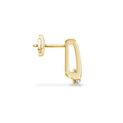 The Shimansky Iconic Millennium Diamond Earrings in 18K Yellow Gold, , large image number null