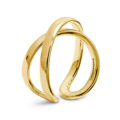 Infinity Ring in 18K Yellow Gold, , large image number null