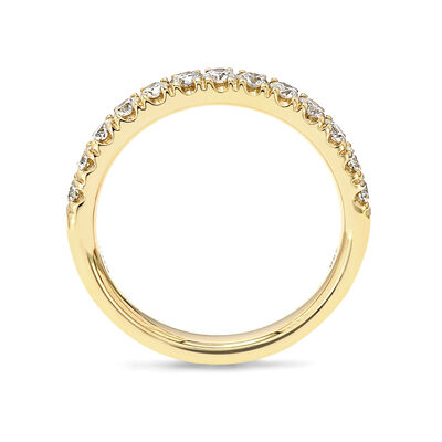 0.50 Carat Diamond Anniversary Ring in 18K Yellow Gold, , large image number null